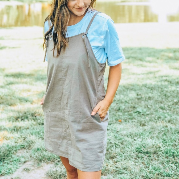 Neutrals Apparel Other - Overall Dress